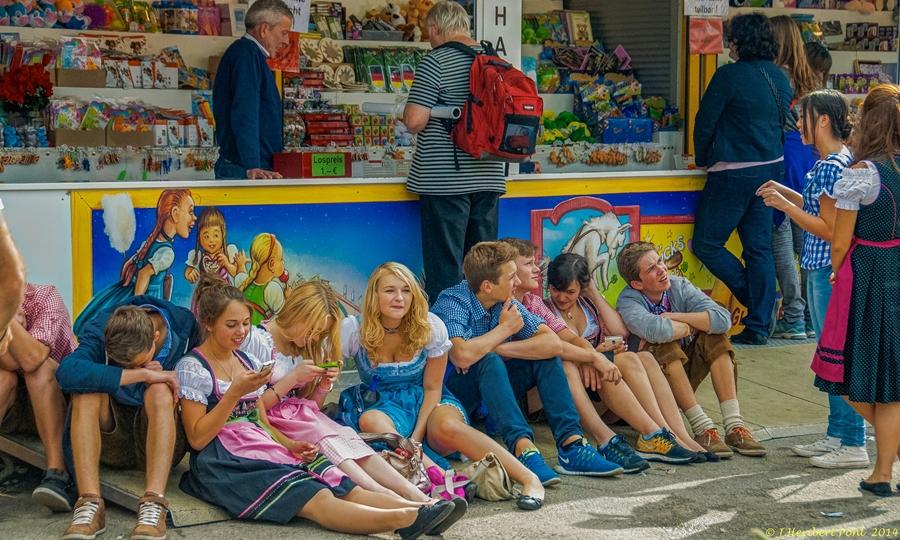 Oktoberfest Munich. Imagen: Heribert Pohl/Flickr.