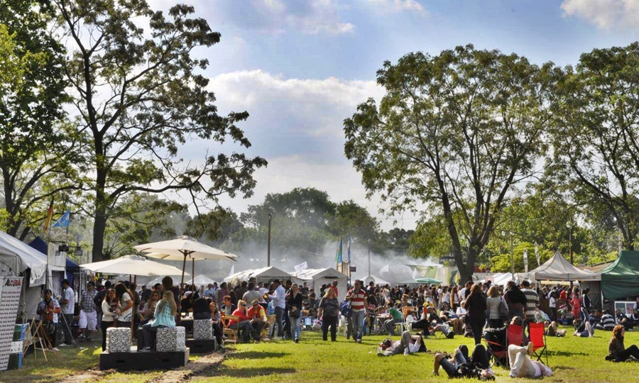 Fiesta de la Picada y la Cerveza Artesanal, Uribelarrea. Imagen: Muncipalidad de Cañuelas/Facebook.