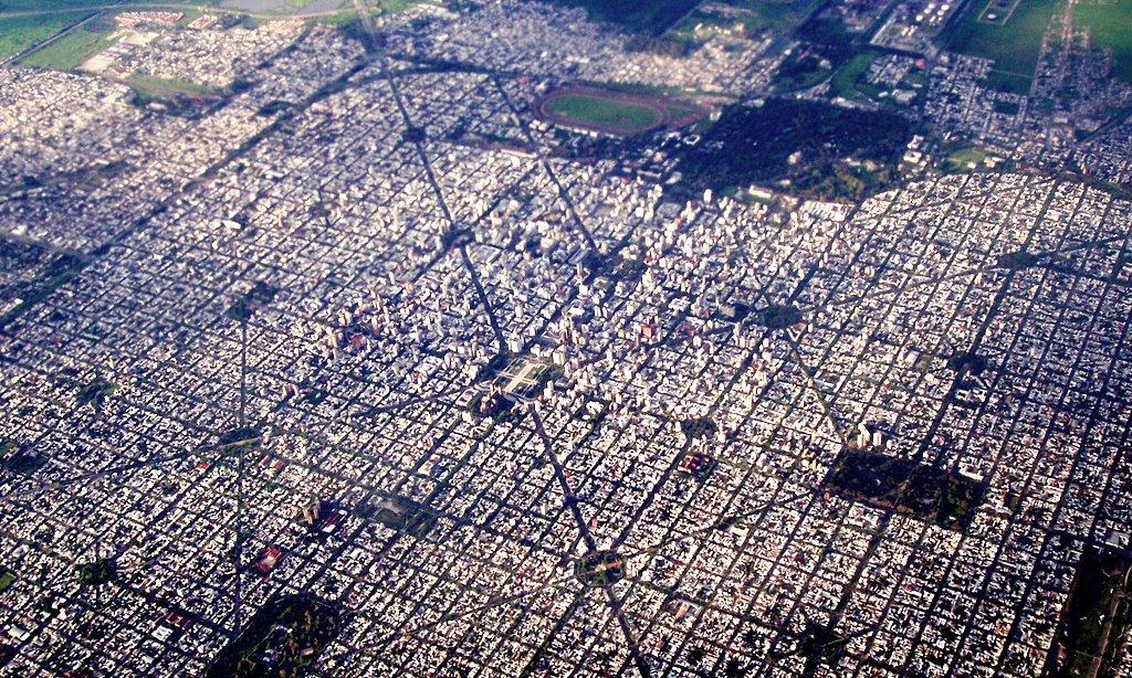 Vista aérea de La Plata. Imagen: Leandro Kibisz/Flickr.