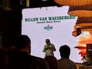 Willem Van Waesberghe, Master Brewer de Heineken