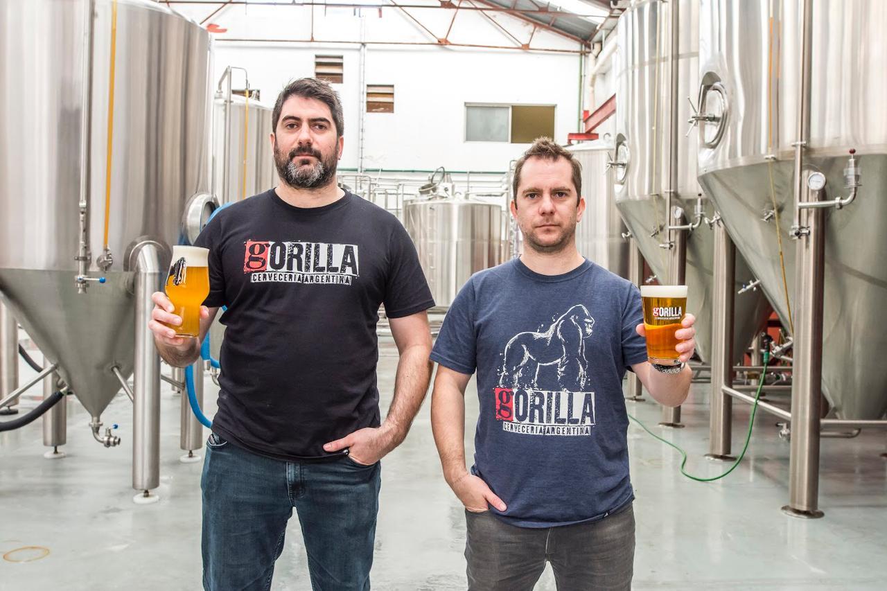 Ramiro Rodriguez Etchelet - BrewMaster y Socio Fundador y Nicolás Rodriguez Etchelet, Administración, Finanzas y Socio Fundador