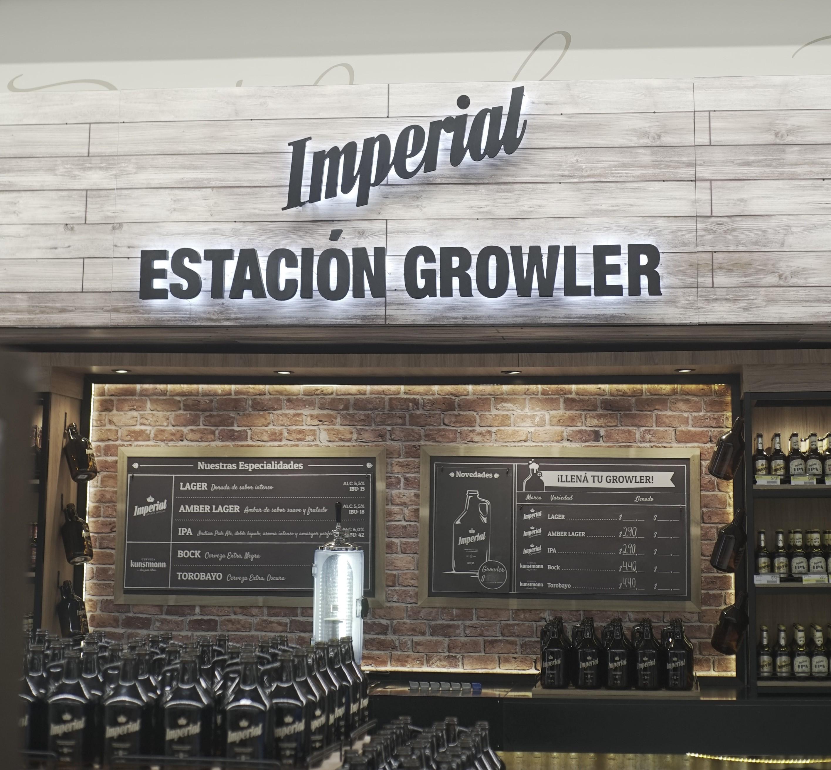 Imperial Growlers