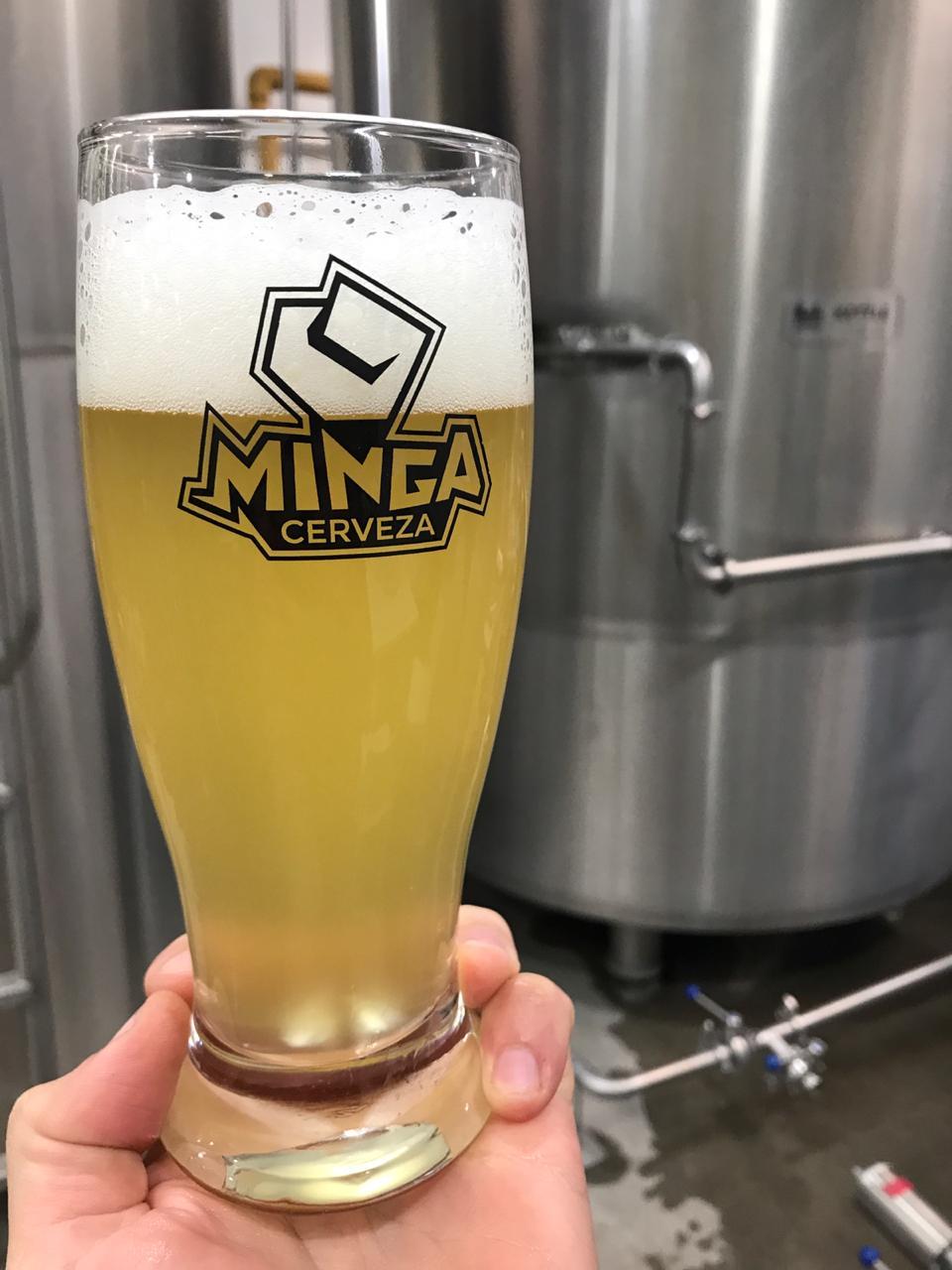 minga hazy lager