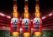 Botellas de Budweiser en homenaje a Lionel Messi
