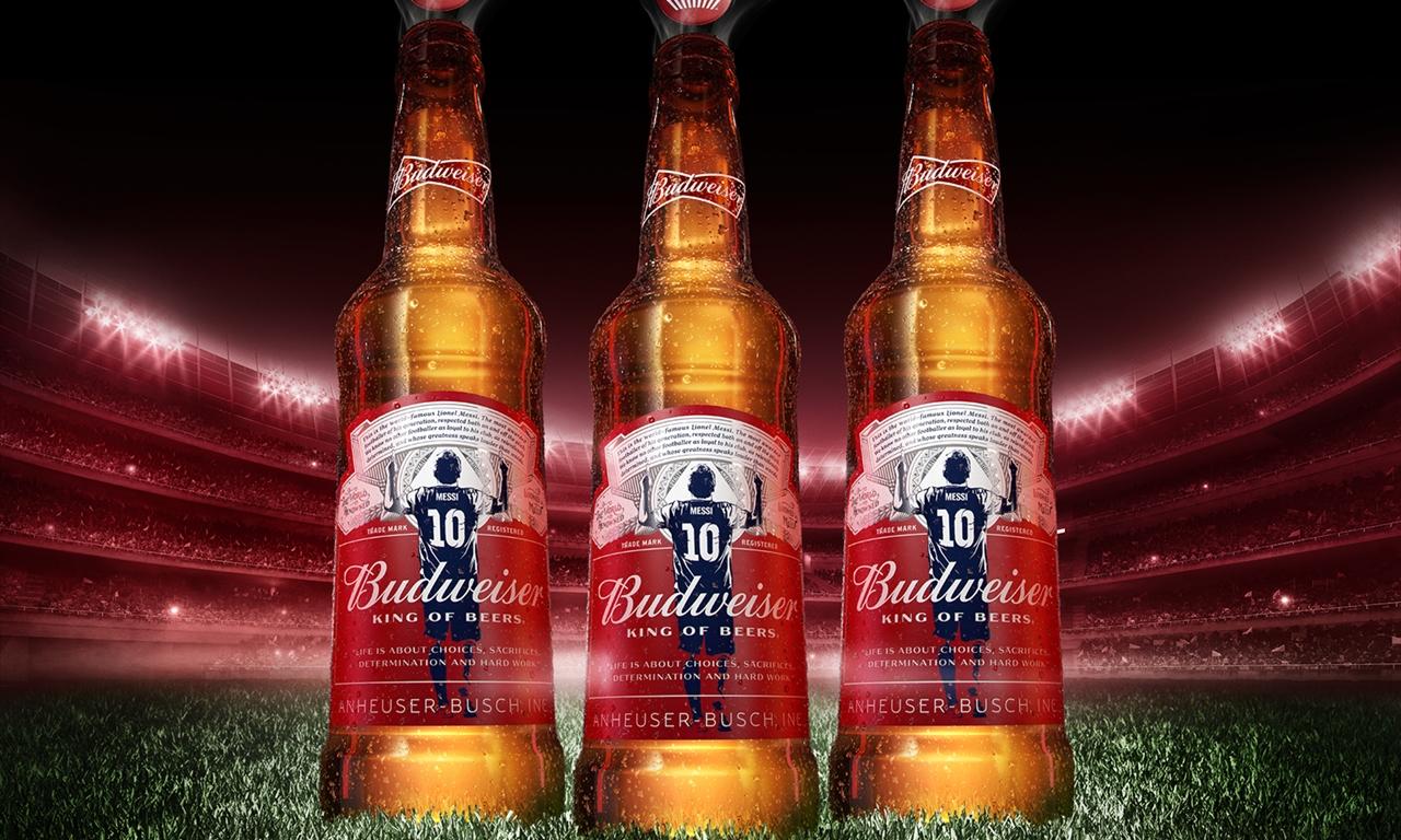 Budweiser выпустил лимитированную партию пива в честь рекорда Лионеля Месси