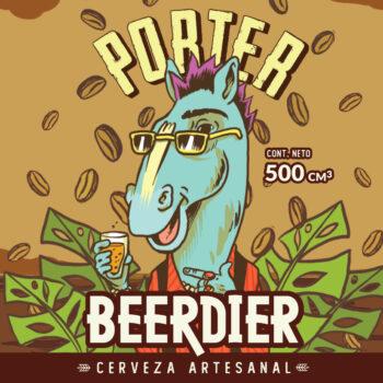 Cerveza Beerdier - Porter