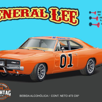 Cerveza Hashtag - General Lee