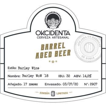 Okcidenta - Barrel Aged Beer WoW 2018