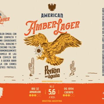 Peñón del Águila - American Amber Lager