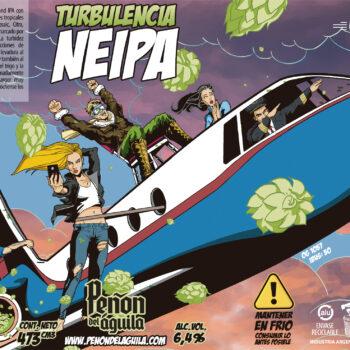 Peñón del Águila - Turbulencia NEIPA